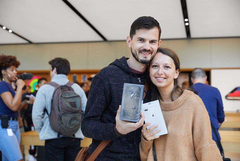 iPhone 8 Apple Store San Francisco