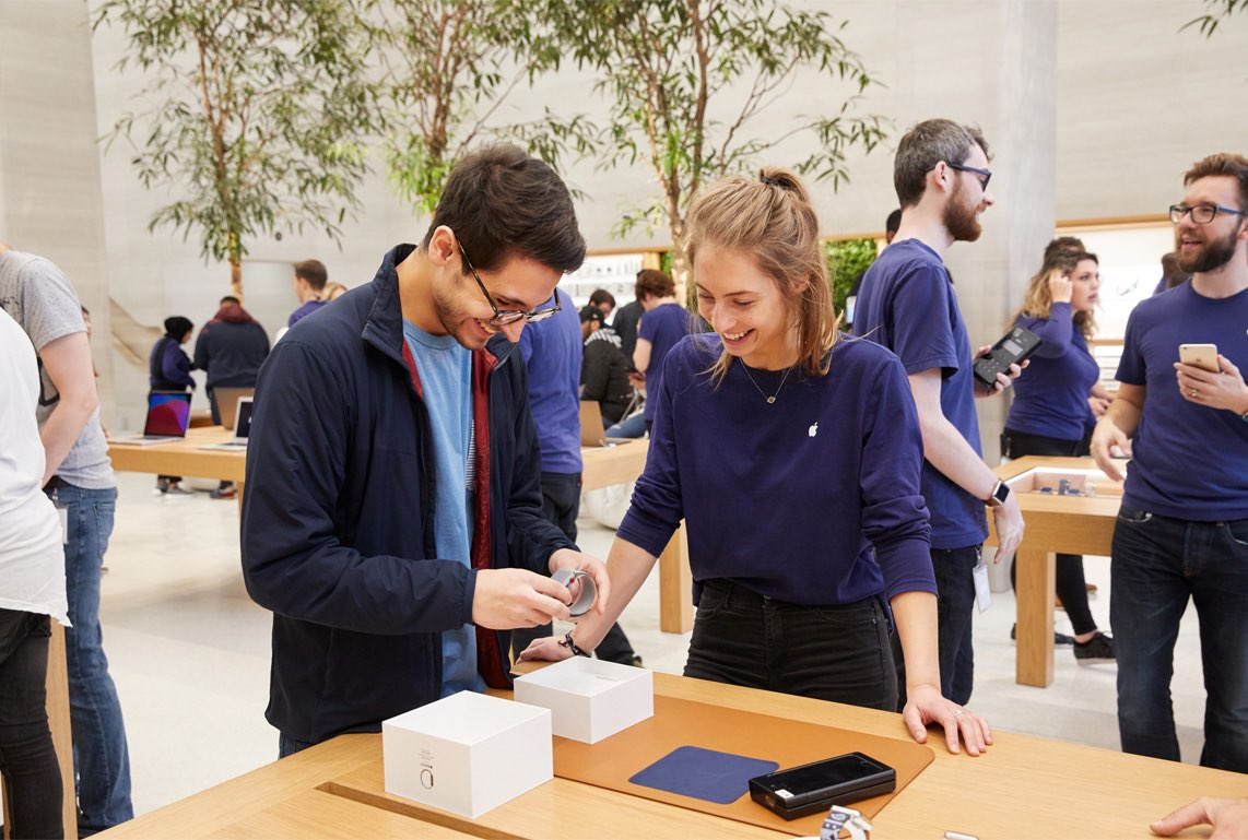 Apple Watch Series 3 Apple Store Regent Street Londen
