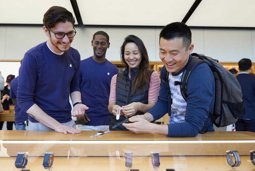 Apple Watch Series 3 Apple Store Union Square SF