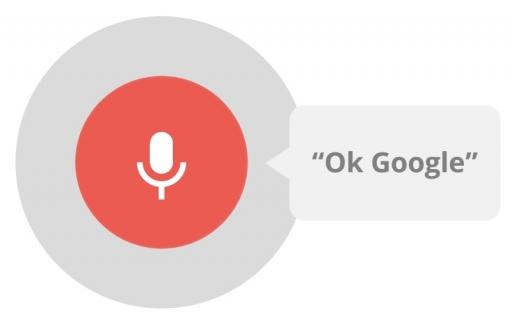 Zoeken met OK Google.