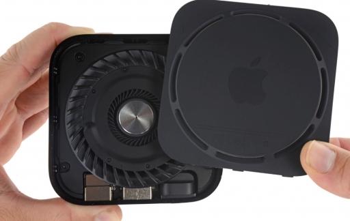 Ventilatie in Apple TV 4K-teardown van iFixit.