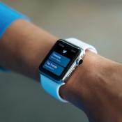 Twitter op de Apple Watch.