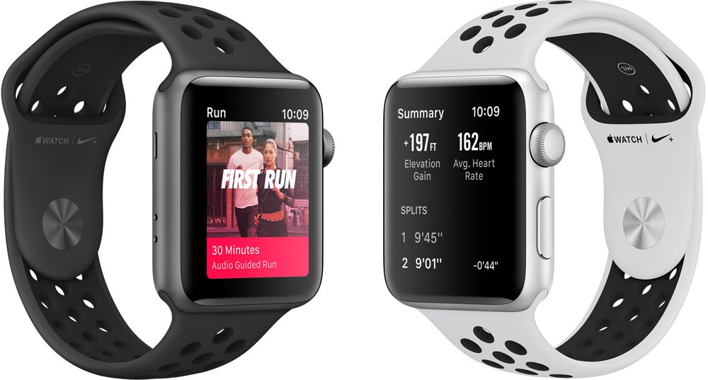 Apple Watch Nike+ coaching