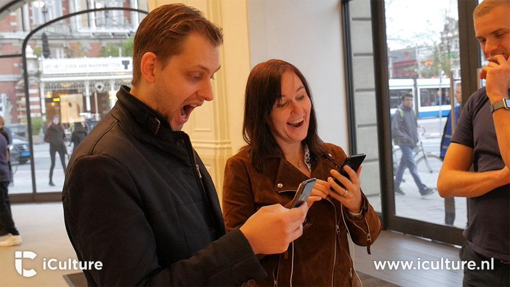 iPhone X eerste indruk Face ID testen