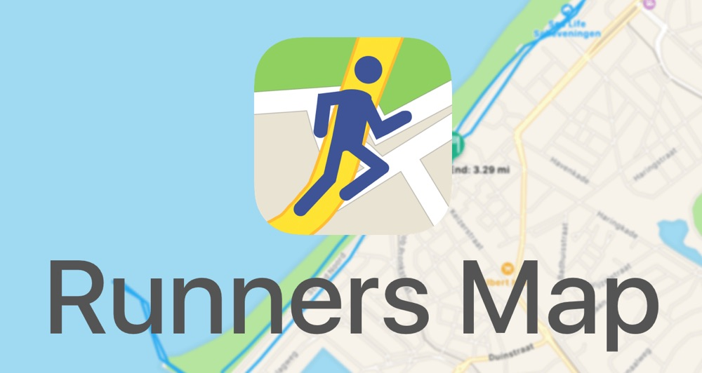 Logo en banner van Runners Map.