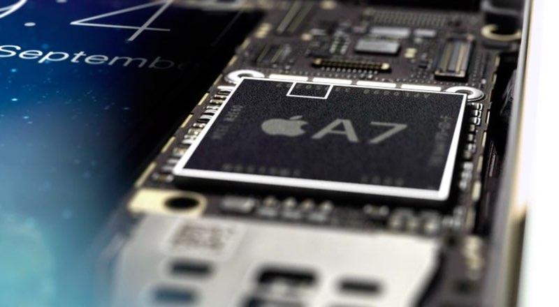 Apple A7 chip met Secure Enclave
