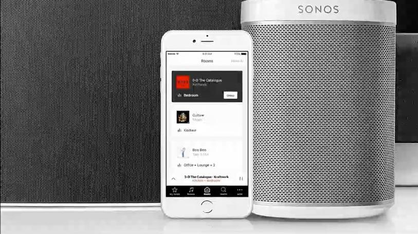 Sonos app vernieuwd.