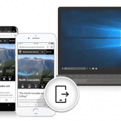 Microsoft Edge naar iOS.