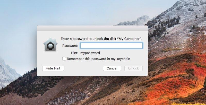 Lek High Sierra wachtwoorden