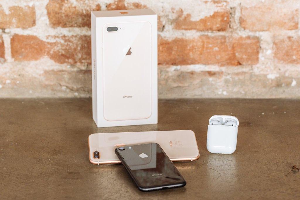 iPhone 8 Plus doosje spiegeling