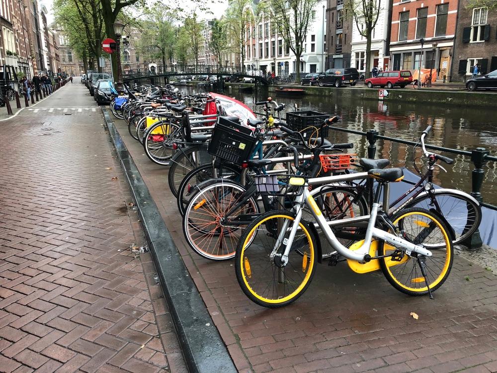Cameratest iPhone 8 met fietsen.