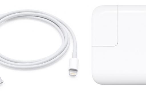 Snelladen met USB-C-adapter