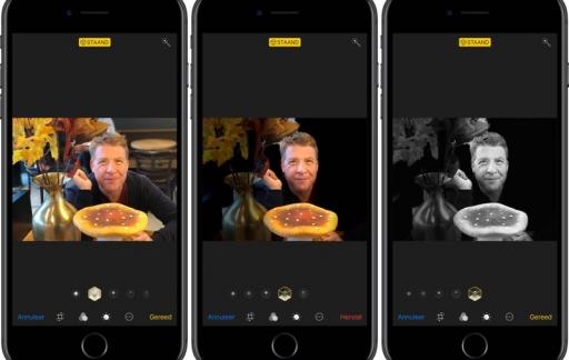 Portretbelichting iOS 11