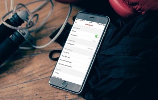 Pushbericht NOS-app instellen.