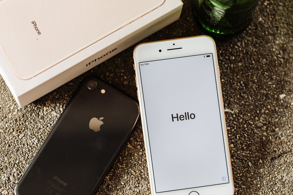 iPhone 8 Plus review: Hello-scherm