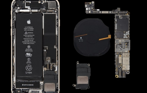 iPhone 8 binnenkant