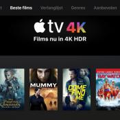 4K-films in iTunes op de Apple TV 4K.