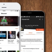 CastBox-app doorzoekt podcasts