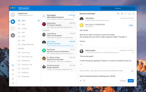 Outlook Mac krijgt redesign