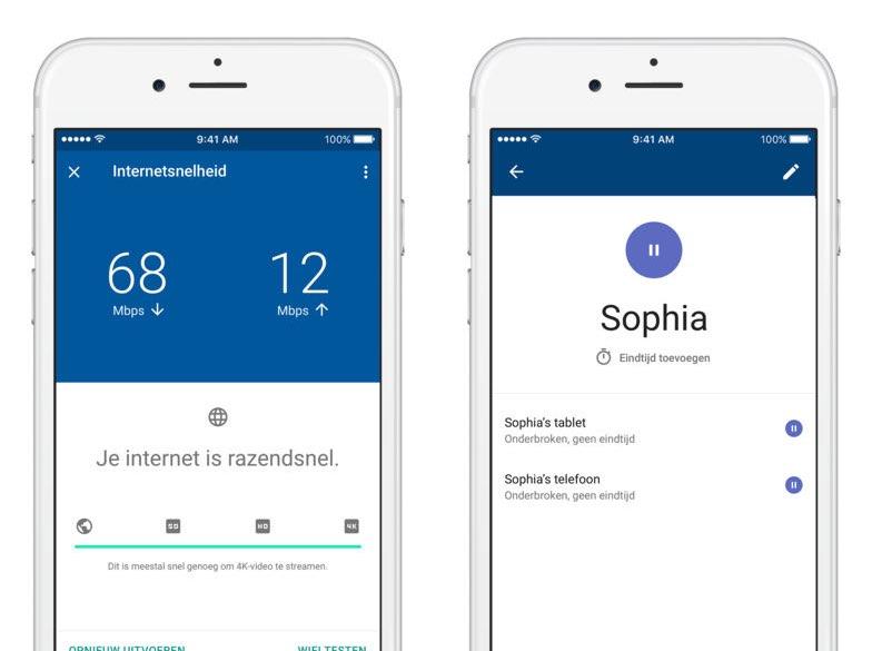 Google Wifi-app Nederlands