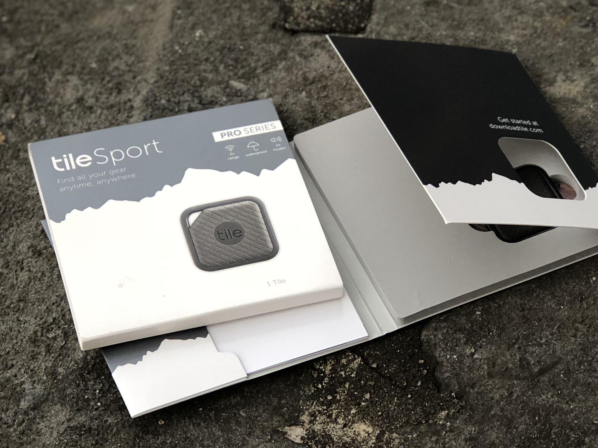 Tile Sport verpakking