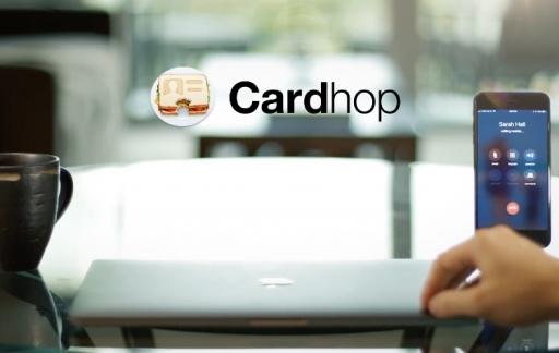 Contacten-app Cardhop op de Mac