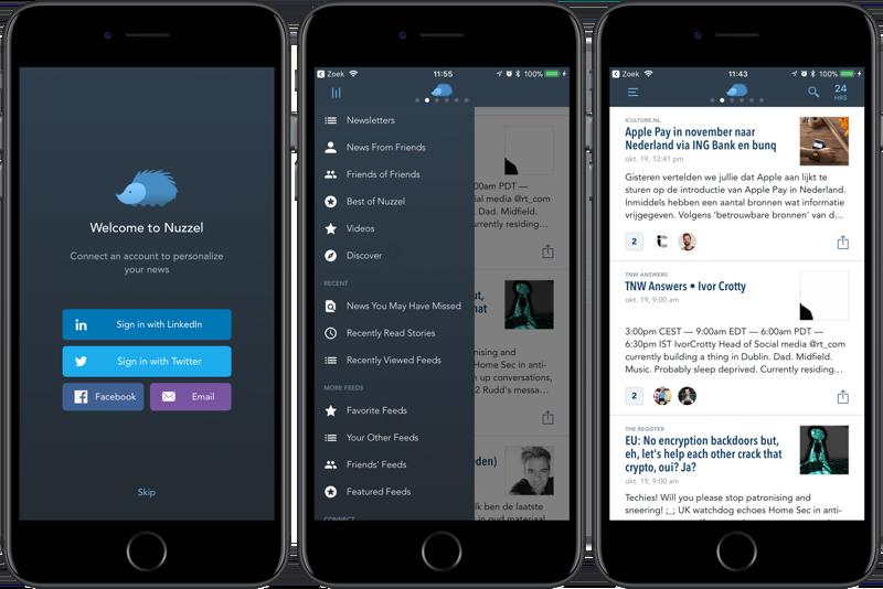 Nuzzel en LinkedIn