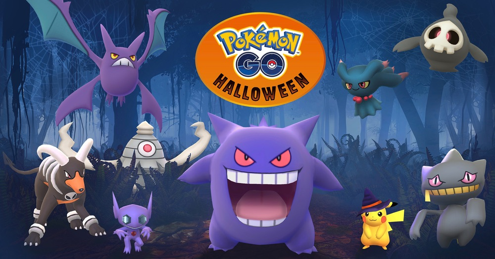 Pokémon Go Halloween.