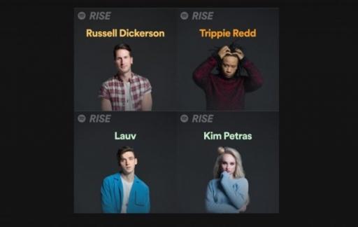 Spotify RISE artiesten