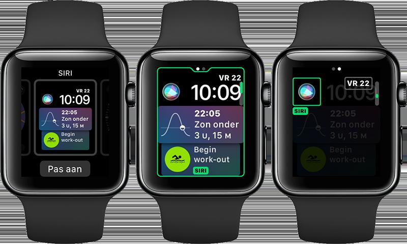 Siri wijzerplaat aanpassen op Apple Watch