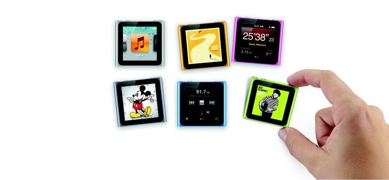 iPod nano wijzerplaten