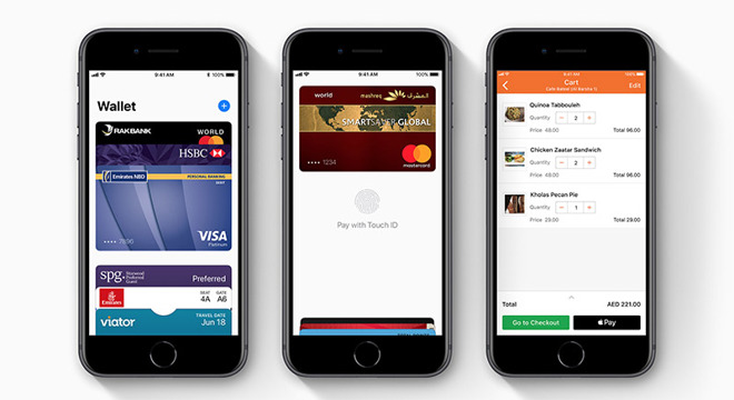 Apple Pay Verenigde Arabische Emiraten