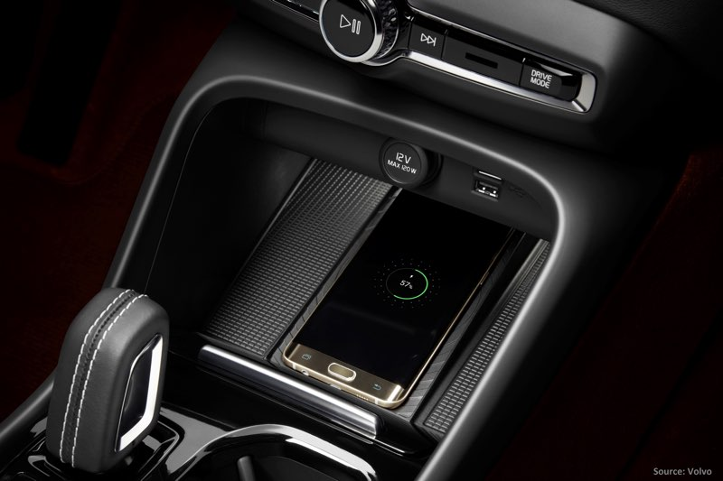 Volvo Qi lader