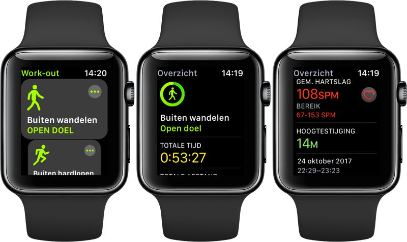 Workout-app voor het sporten
