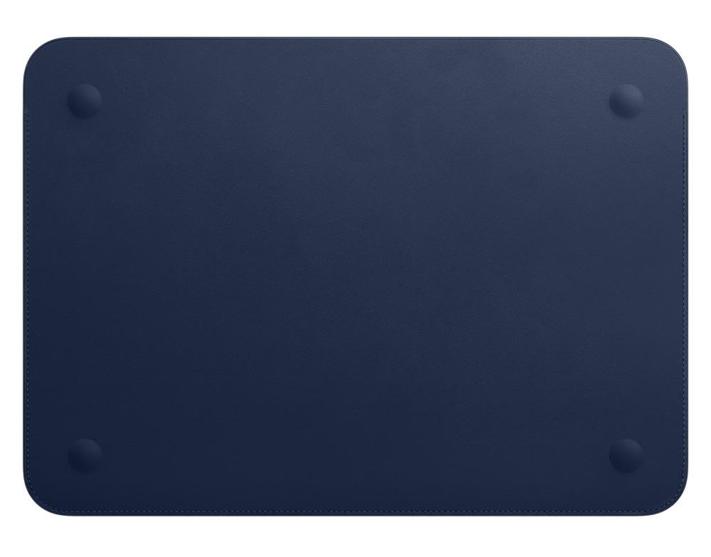 Achterkant van Leren Sleeve voor de 12-inch MacBook.