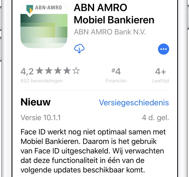 ABN AMRO Face ID