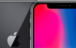 iPhone X spacegrijs closeup