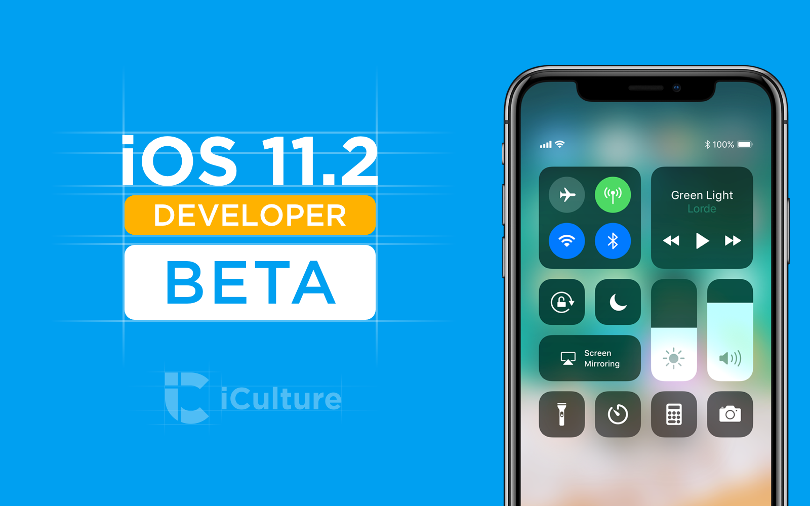 iOS 11.2 beta.