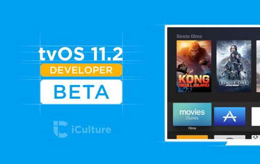 tvOS 11.2 beta.