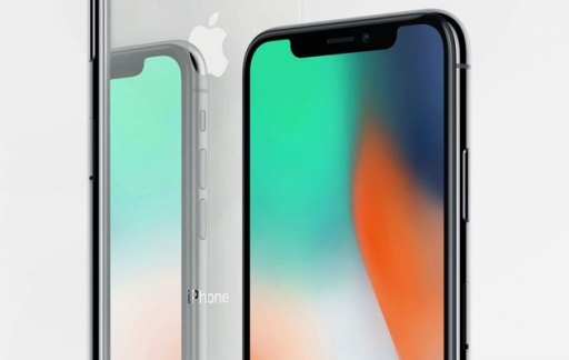 iPhone X spiegeling