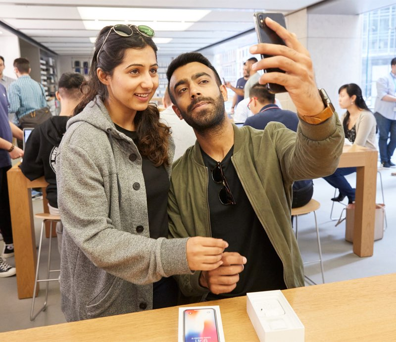 iPhone X lancering in Sydney