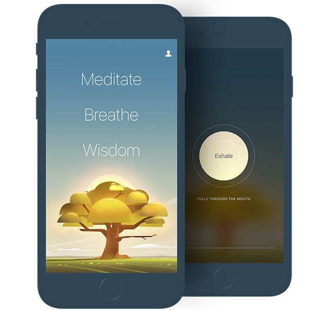 Oak meditatie-app