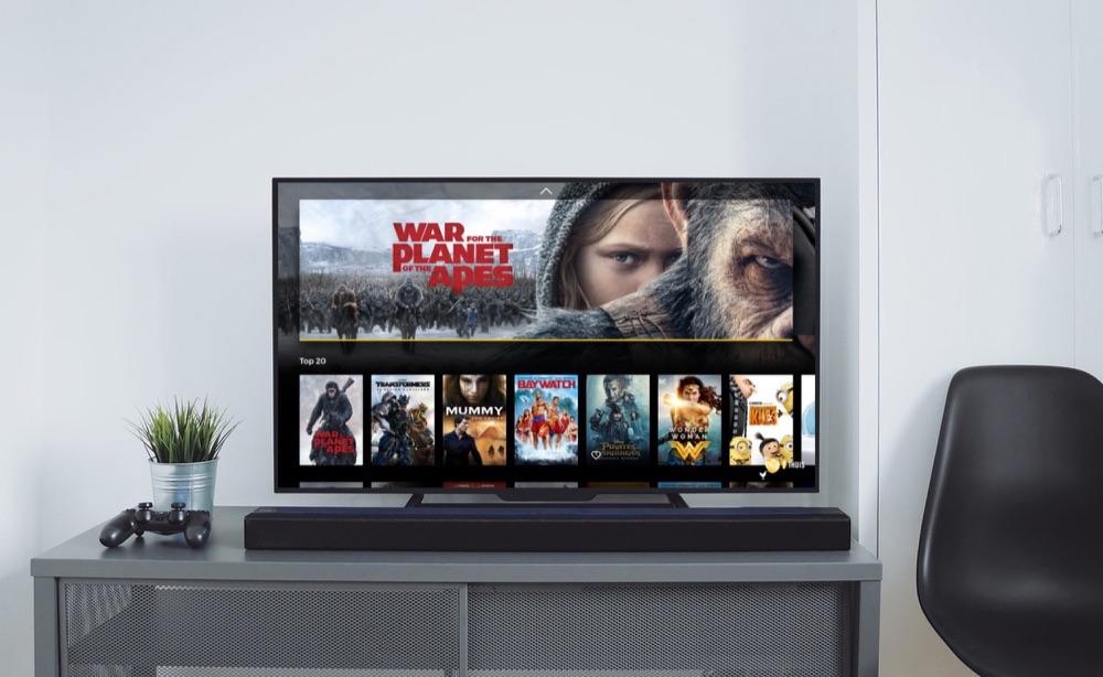 Pathé Thuis op de Apple TV.
