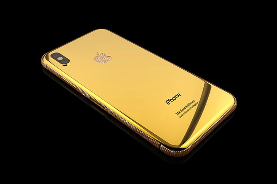 Gold Genie iPhone X Swarovski