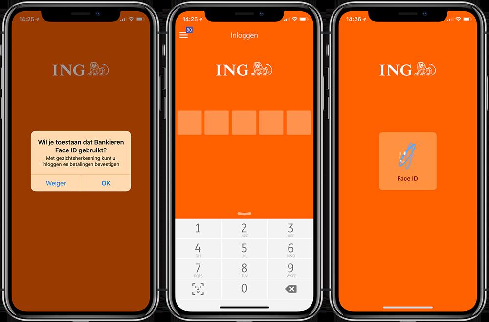 ING Bankieren Face ID