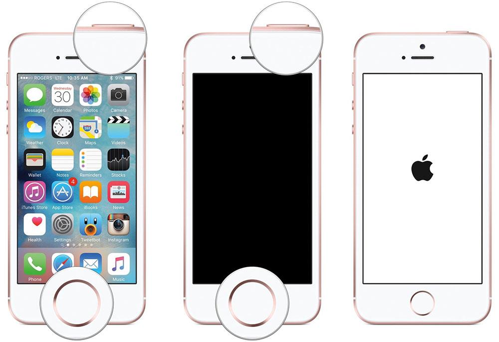iPhone SE resetten