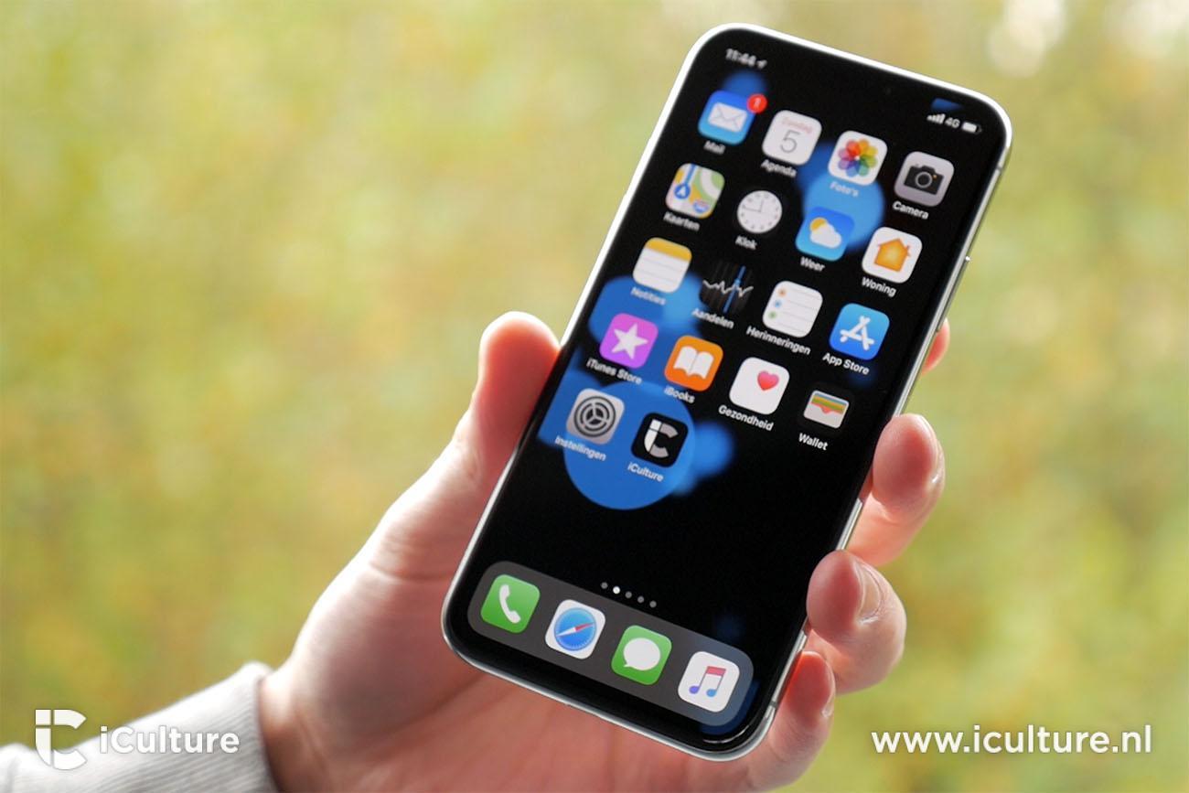 iPhone X review: zwarter dan zwart op het nieuwe OLED-scherm