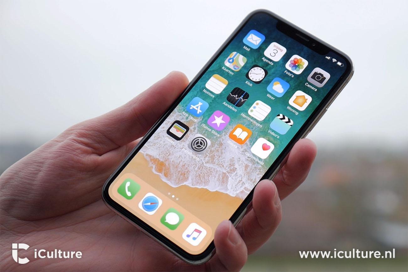 iPhone X review: nieuwe standaard wallpaper