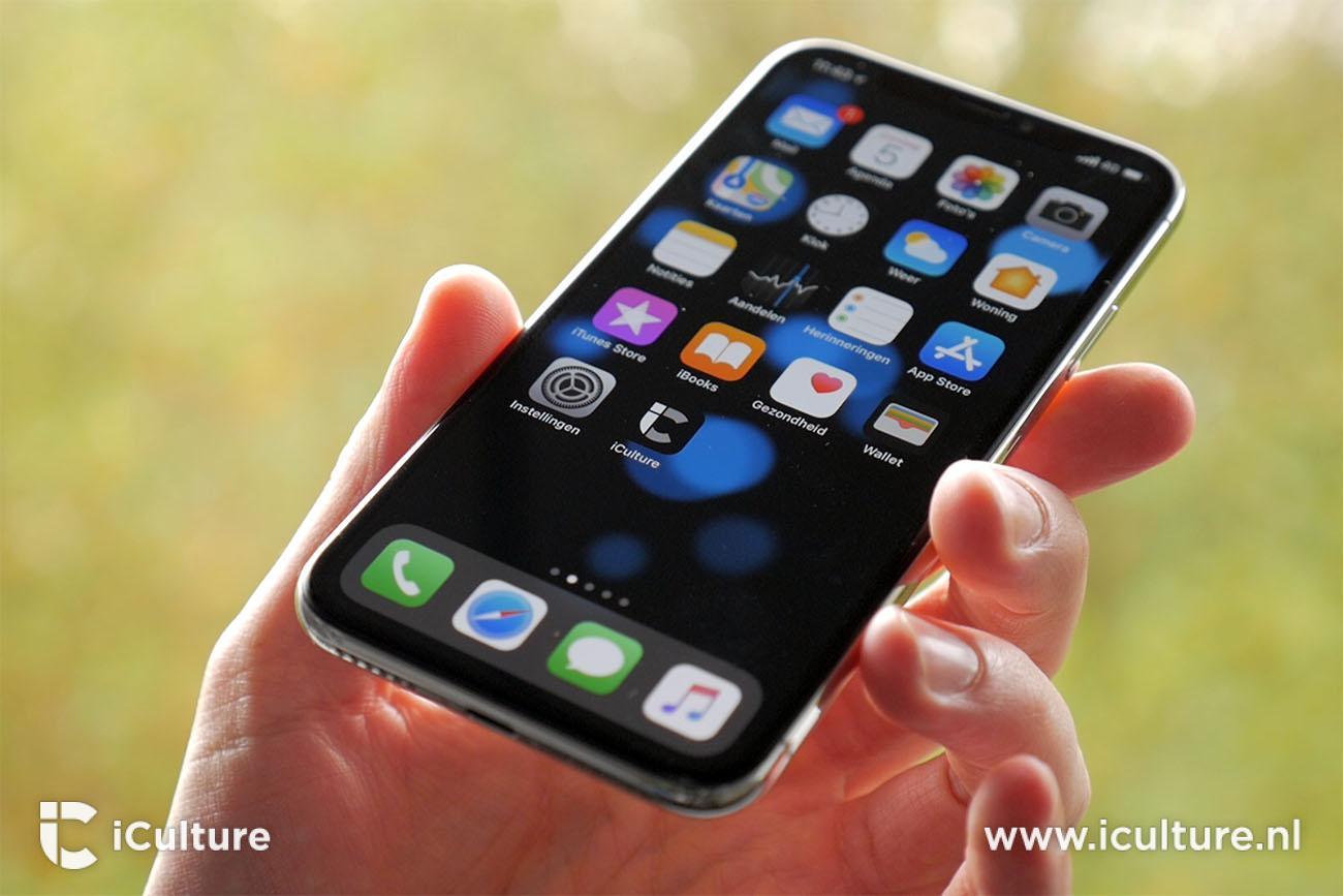 iPhone X review: dieper zwart voor het scherm