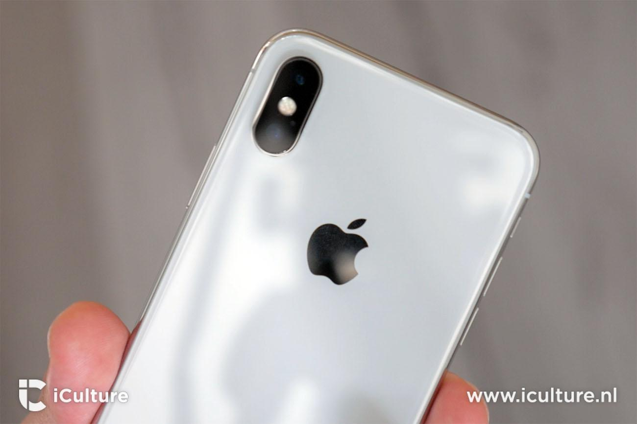 iPhone X review: achterkant